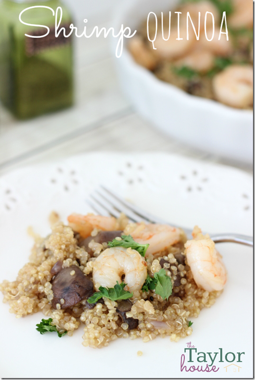 Shrimp Quinoa, Quinoa Recipes