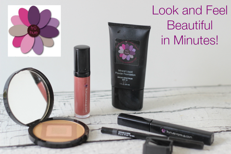 Tru Hue, Mother's Day Gift, Fabulous Make up in Five Minutes
