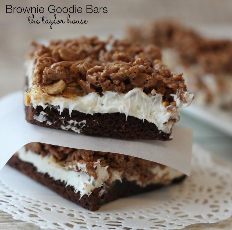 Brownie Goodie Bars, Loaded Brownies