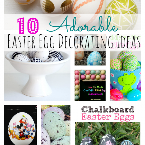 10 Adorable Easter Egg Decorating Ideas