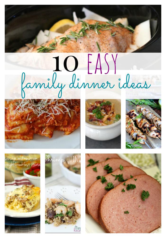 Easy Dinner Ideas For Family 10 Family Dinner Ideas Easy