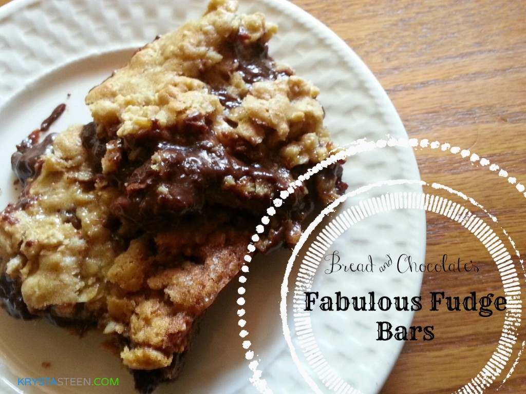 Fabulous Fudge Bars