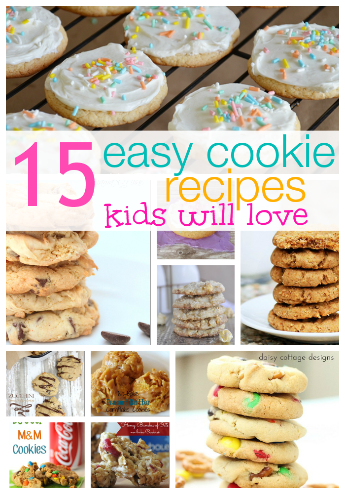 15 Easy Cookie Recipes Kids Love