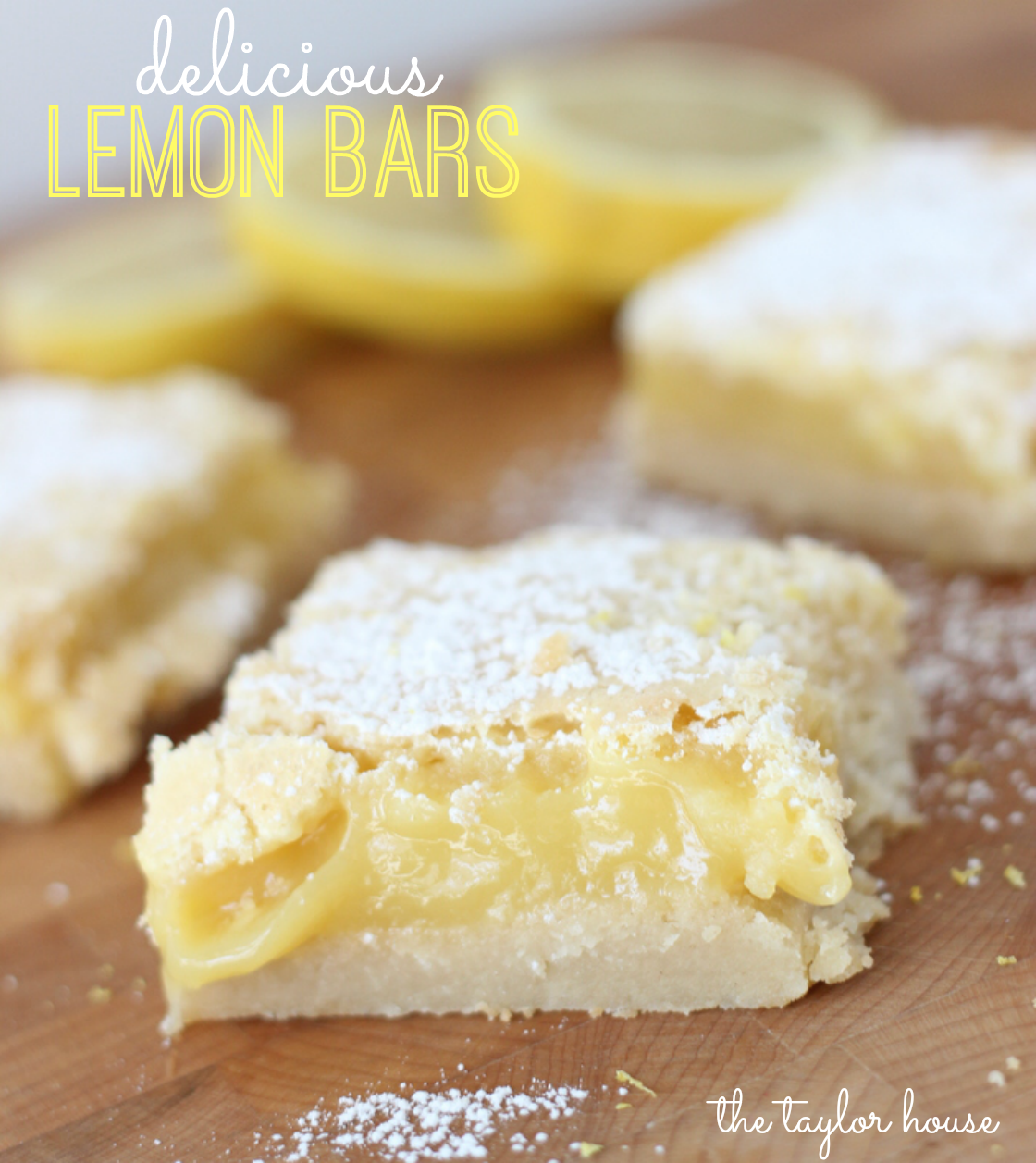Lemon Bars, Easy Lemon Bars, Mothers Day desserts