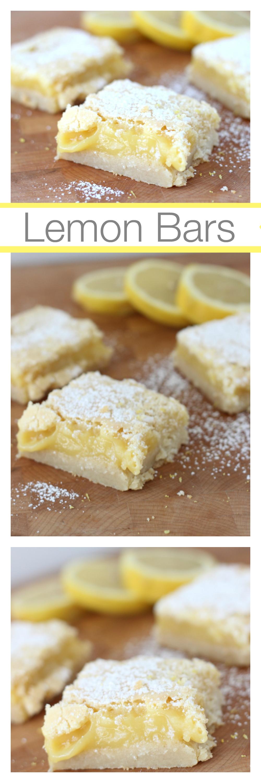 Lemon Bars, Easy Lemon Bars, Mothers Day desserts