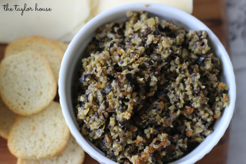 Easy Olive Tapenade Recipe | The Taylor House