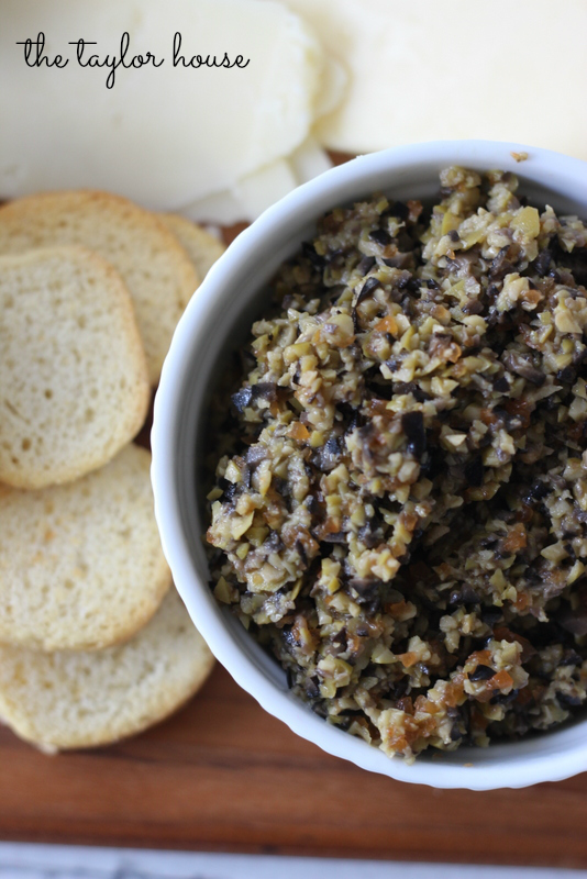 Easy Olive Tapenade Recipe - The Taylor House