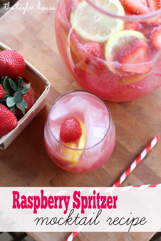 Raspberry Spritzer Mocktail, Trop 50