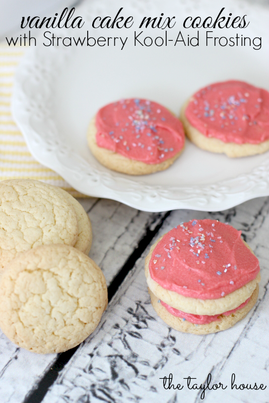 Sugar Cookies From Cake Mix And Sour Cream