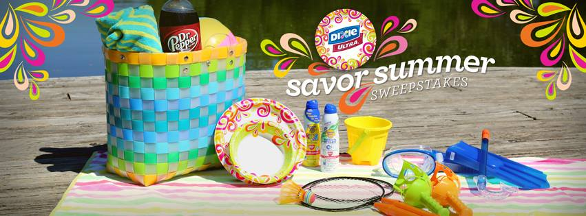 Dixie, Savor Summer, Dixie Sweepstakes, #SavorSummer