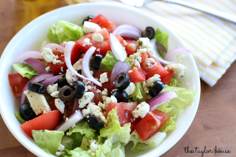 Greek Salad, Easy Greek Salad, Easy Salad Recipe