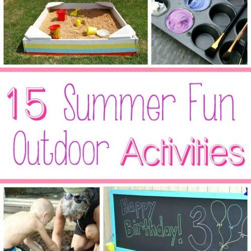 15 Outdoor Summer Activities for Kids
