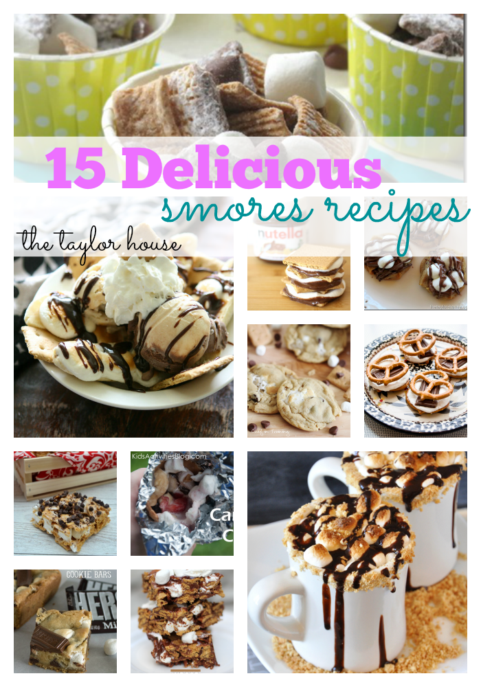 Easy Smores, Smores Recipes, Smores Variations