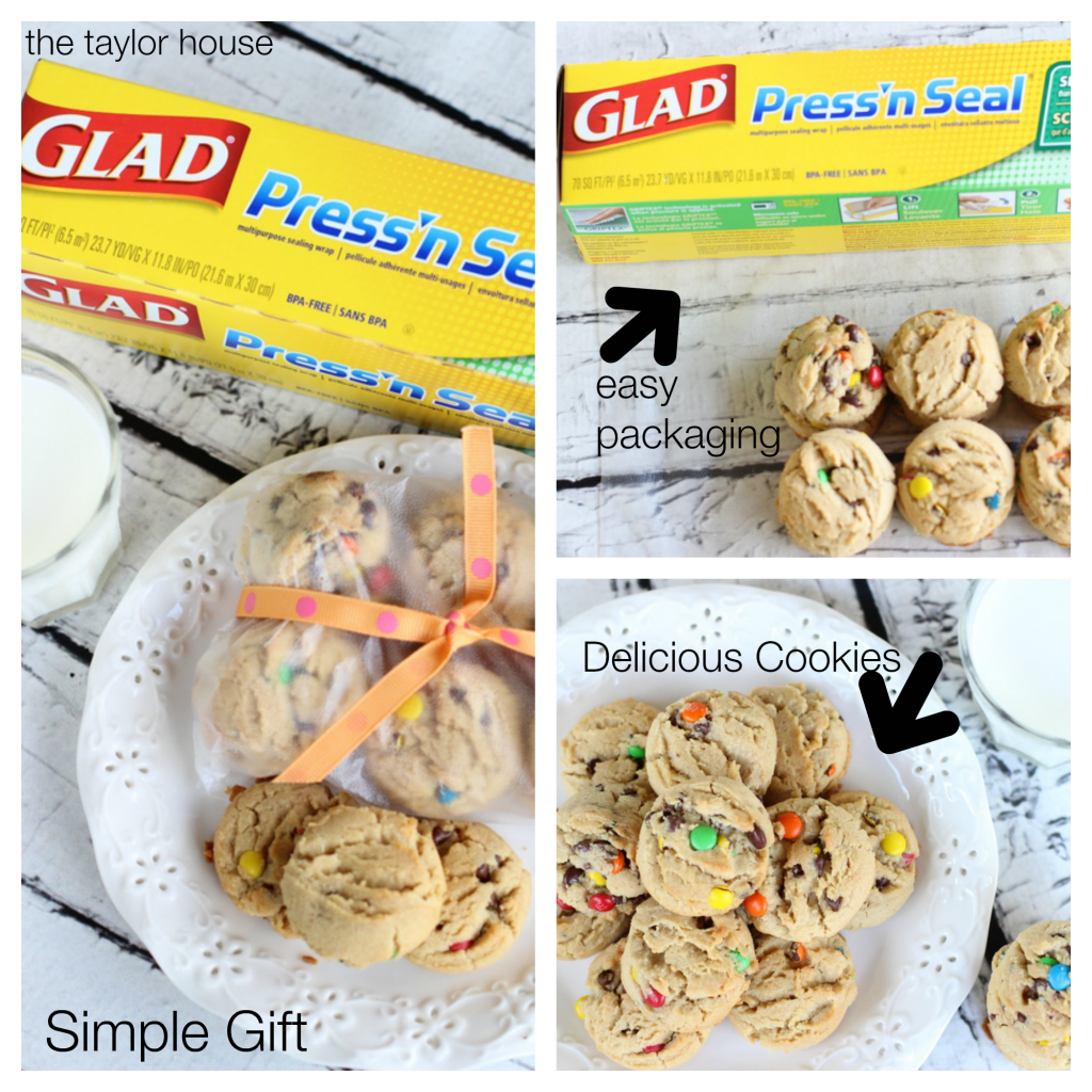 Glad Press n' Seal, Peanut Butter Cookies, Peanut Butter Chocolate Chip Cookies