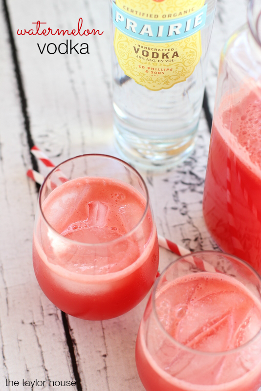 Prairie Vodka, Watermelon Vodka, Watermelon Lemonade