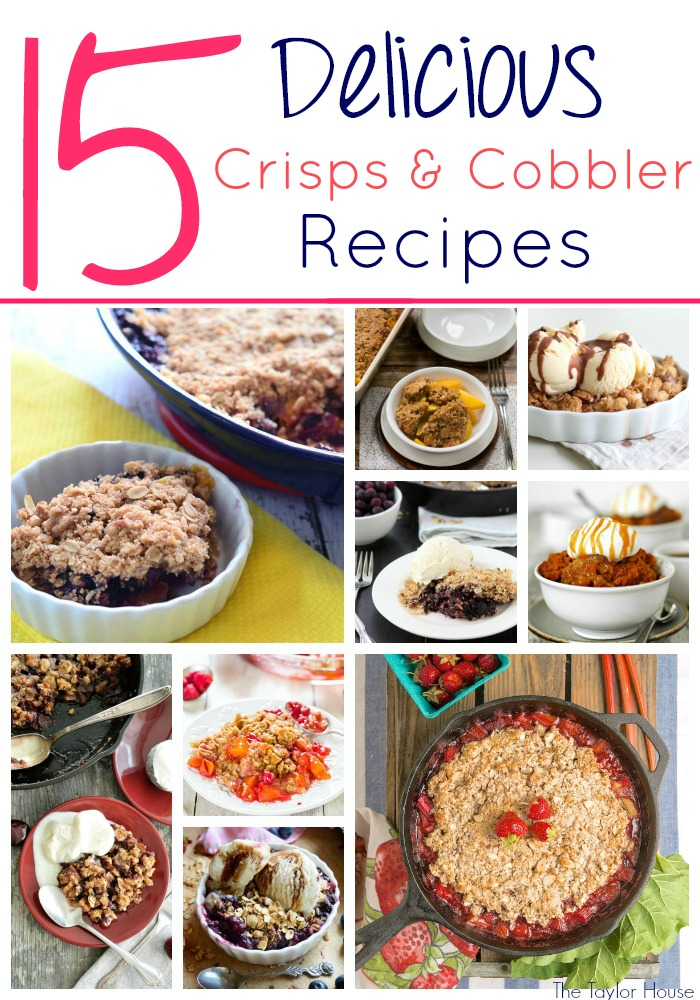 Crisps, Cobbler Recipes, Crisp recipes, Summer Desserts
