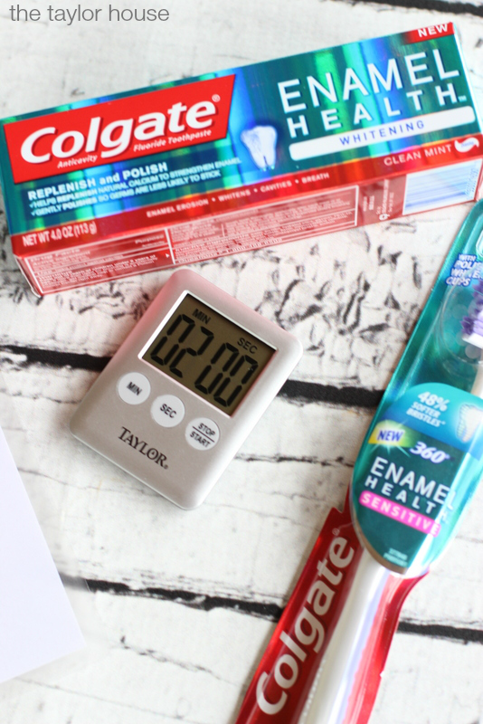 Free Printable, Back to School, Get ready for the day printable, steps to start the day printable, Colgate, Enamel Care