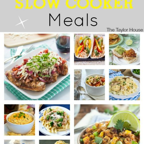Easy Chicken Slow Cooker Meals
