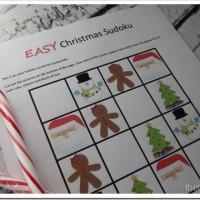 Christmas Activity, Christmas Sudoku, Free Christmas Printable