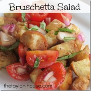 Bruschetta Salad