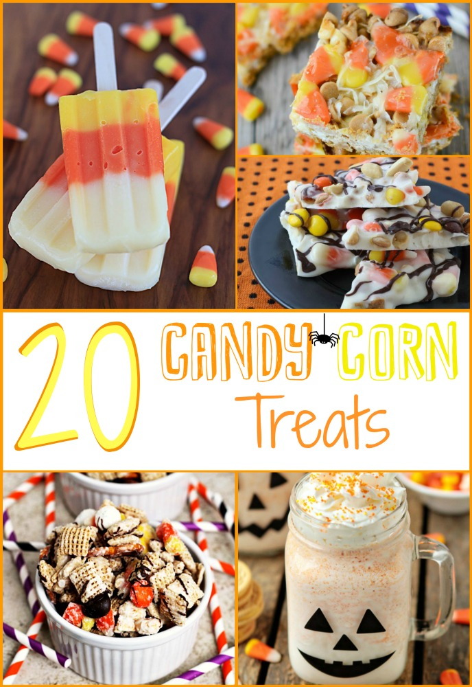 Candy Corn, Candy Corn Treat Ideas, Halloween Treats