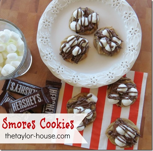 National Smores Day: Smores Cookies