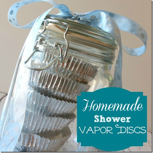 Homemade Shower Vapor Discs