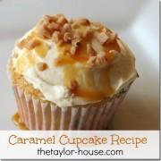 Caramel Cupcake Recipe