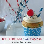 Ice Cream Soda Cupcake