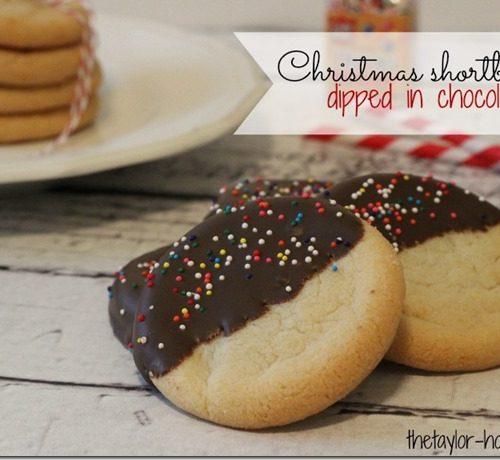 Christmas Shortbread Cookies and Christmas Giveaway