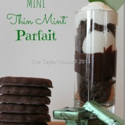 Chocolate Mint parfait