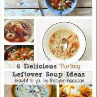 Turkey Leftover Soup Ideas