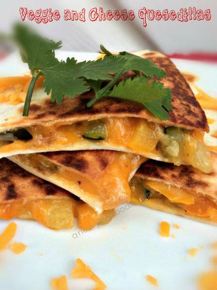 veggie-and-cheese-quesedilla