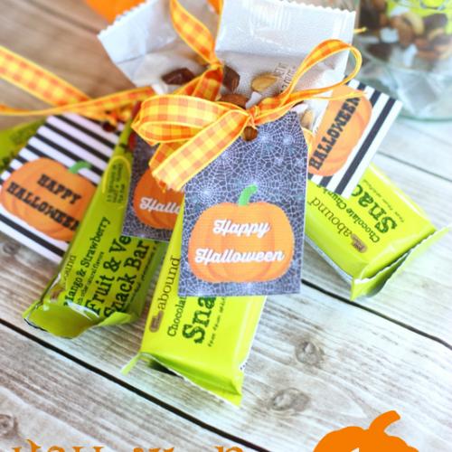 Healthier Halloween Treat Idea + FREE Halloween Printable