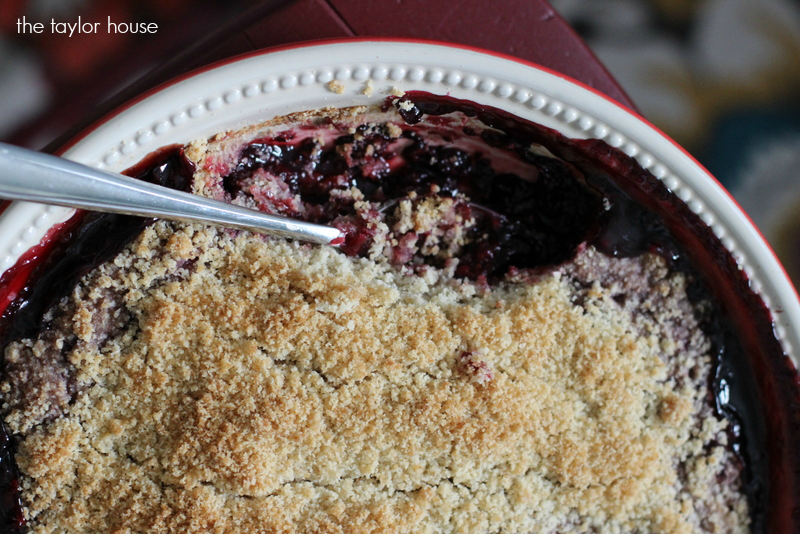 Raspberry Crisp, Crisp Recipes, Rhubarb Crisp, Blueberry Crisp