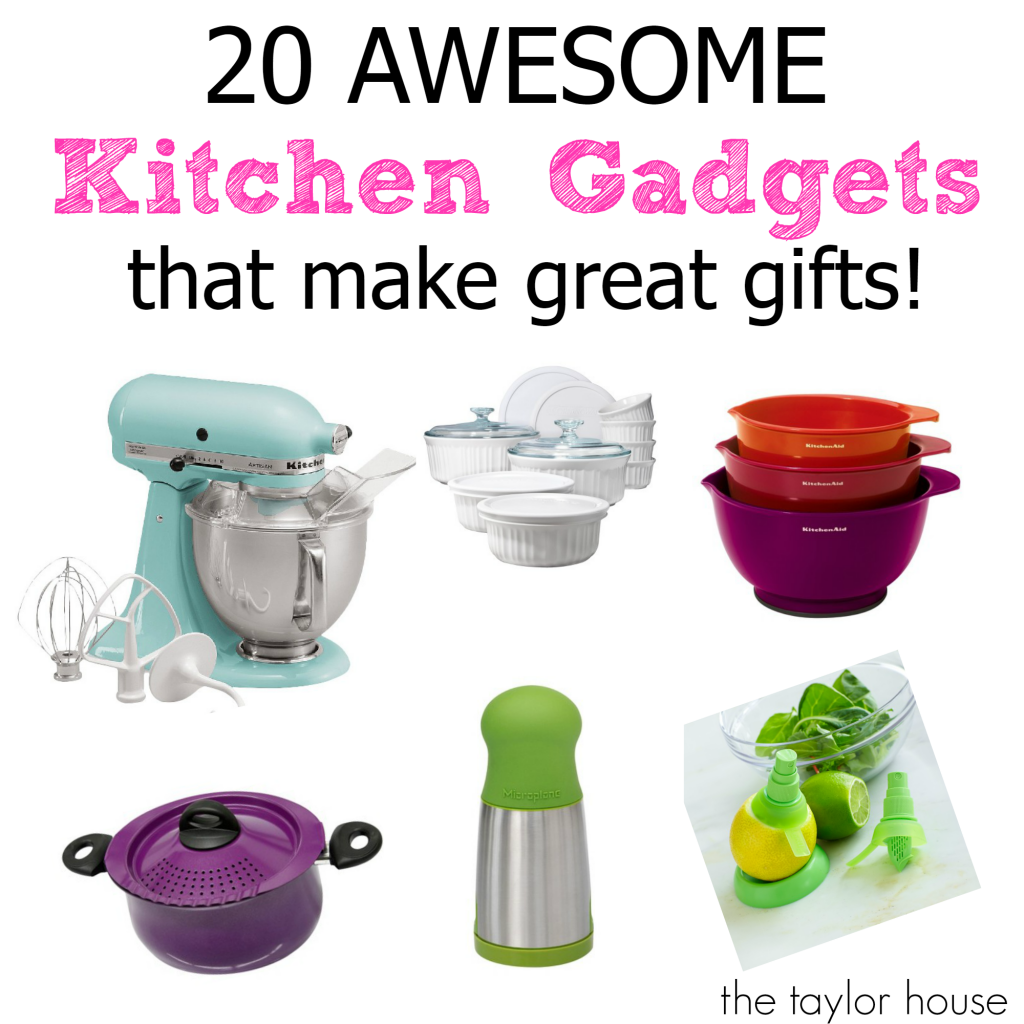 Kitchen Gifts, Best Kitchen Gifts, Kitchenaid, Microplane, Citrus Juicer, Kitchen Gadgets