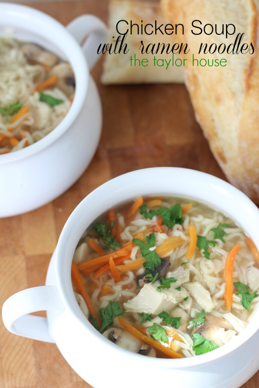 Chicken Noodle Soup, Slow Cooker Soup Recipes, Chicken Ramen Noodle Soup Recipe