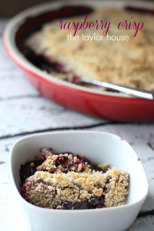 Raspberry Crisp, Crisp Recipes, Rhubarb Crisp, Blueberry Crisp