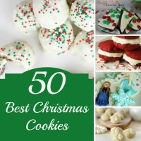 50 Best Christmas Cookies Pinterest image