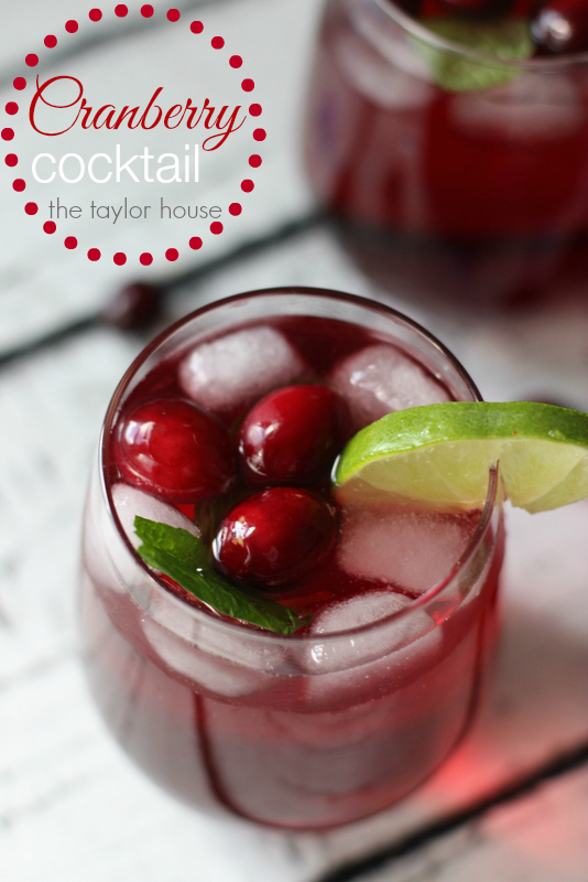 Cranberry Cocktail, Christmas Cocktail, Cranberry Vodka