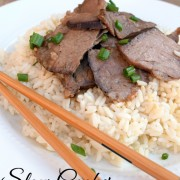 Slow Cooker Asian Beef