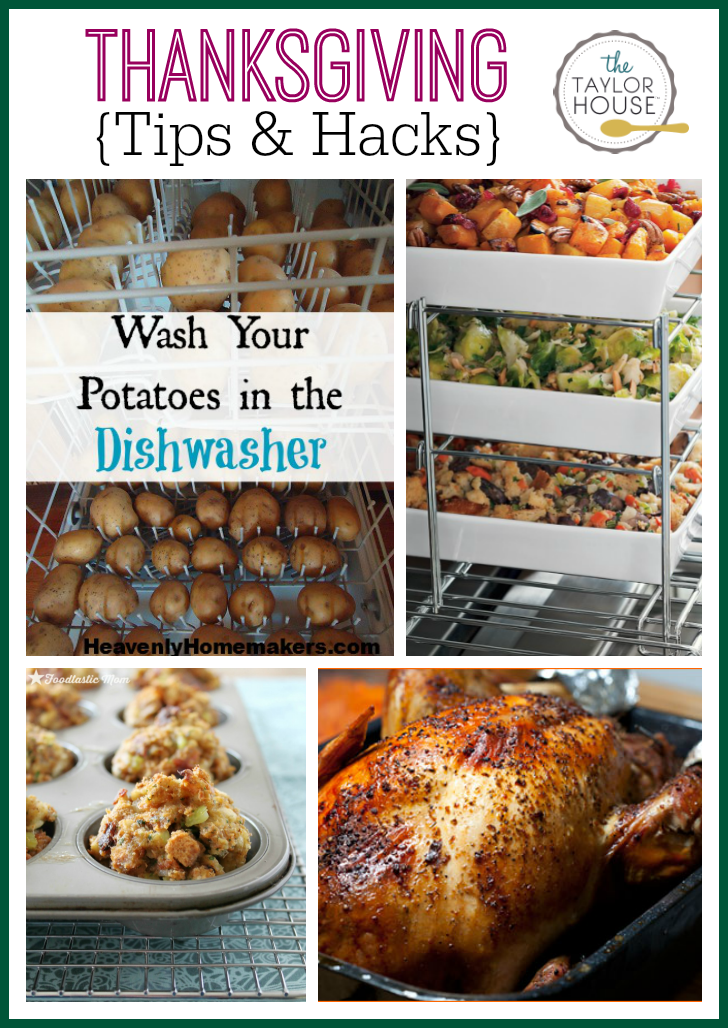 Thanksgiving Tips and Hacks
