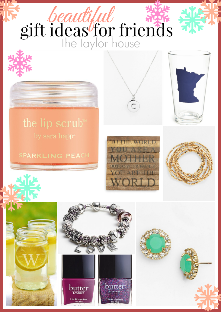 Beautiful Gift Ideas for Friends