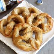 pumpkin beer soft pretzels 1