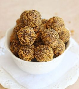 pumpkin spice cinnamon chocolate ganache gingerbread truffles 10