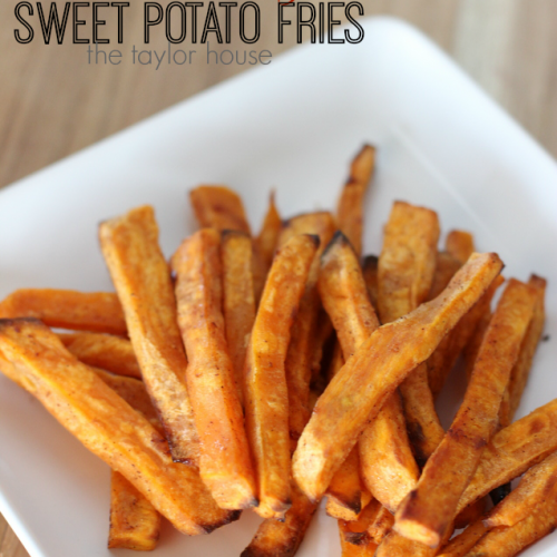 Cinnamon & Sugar Sweet Potato Fries