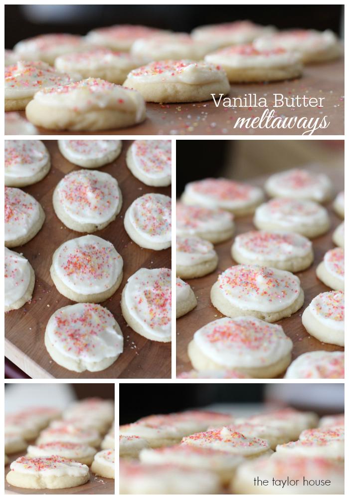 Rodelle, Sugar Cookies, Vanilla Butter Meltaway, Vanilla Sugar Cookie