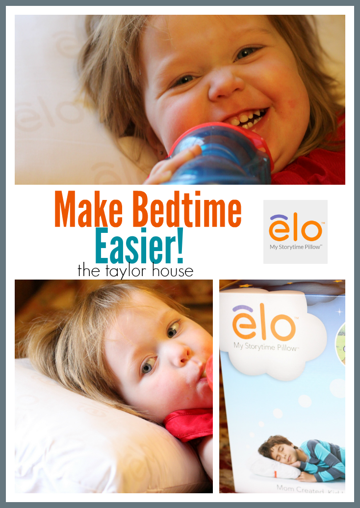 How to make Bedtime easier with Elo Storytime Pillow!