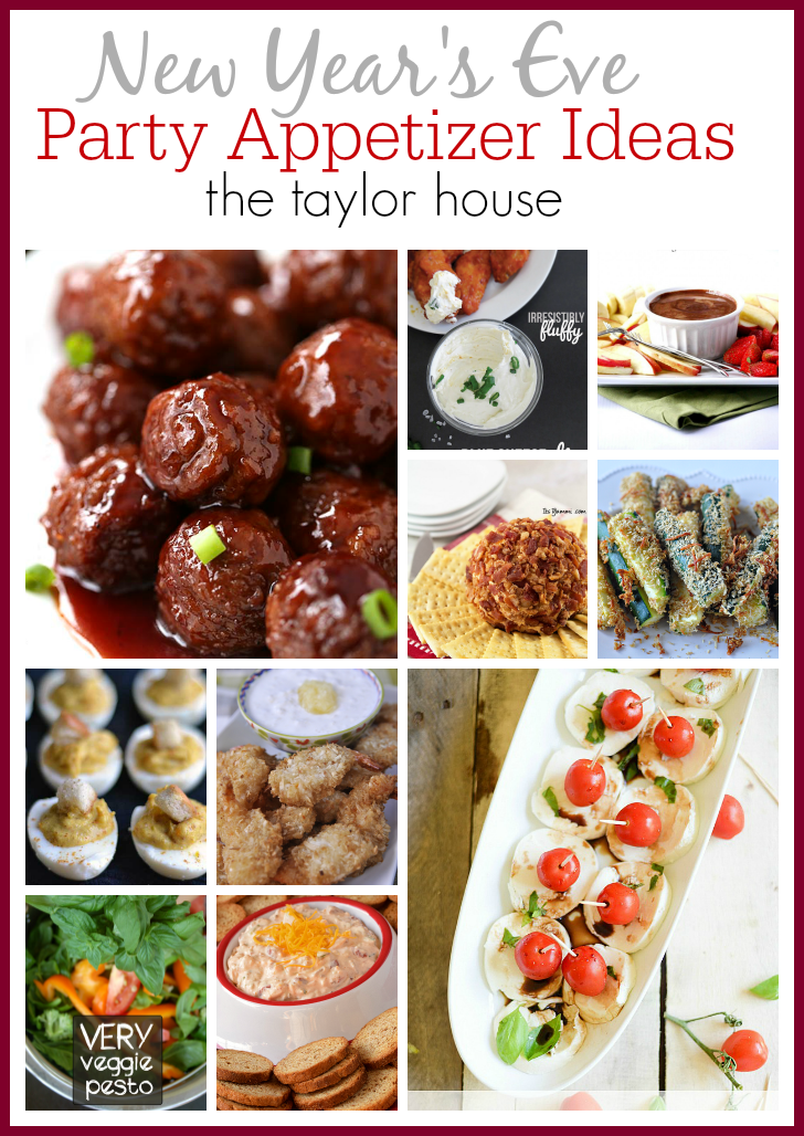 Delicious New Years Eve Party Appetizer Ideas!