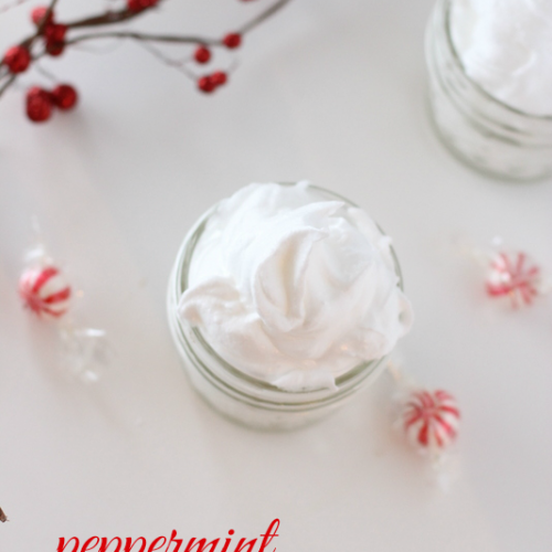 Peppermint Whipped Body Butter